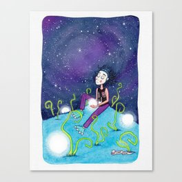 Deseo Canvas Print