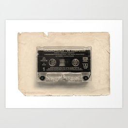 Crushing Sound 01 - A side Art Print