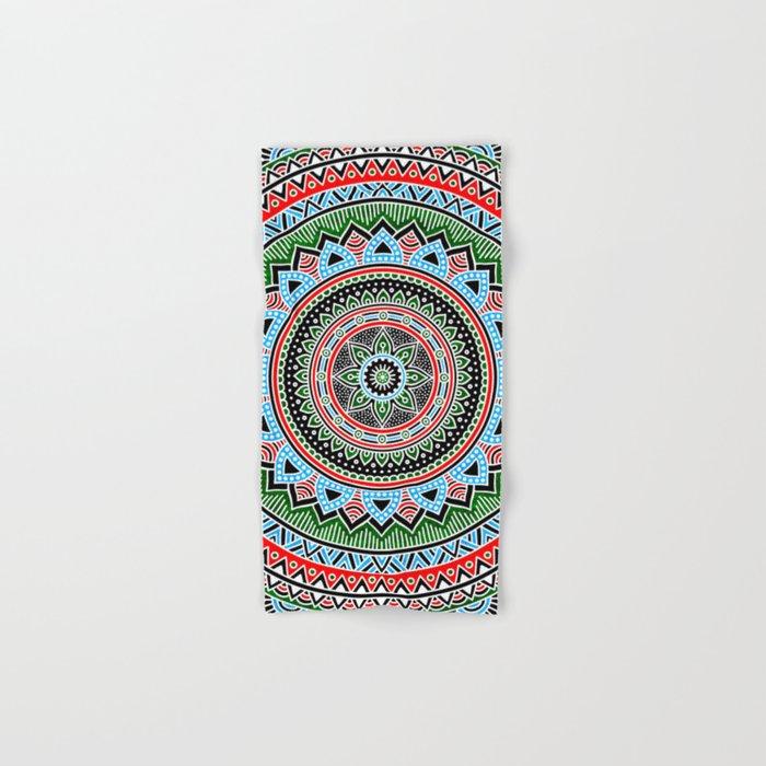 Hippie Mandala 14 Hand & Bath Towel