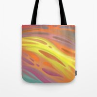 aurora Tote Bags featuring Aurora by Ma. Luisa Gonzaga