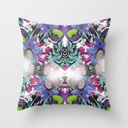 MultiFunktwo Throw Pillow