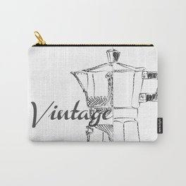 Coffee pot blueprint sketch Carry-All Pouch