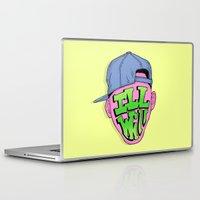 fresh prince Laptop & iPad Skins featuring Fresh Prince of Bel Air by shoooes