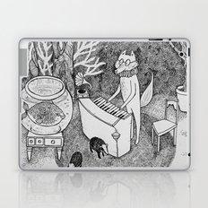 Fox Piano Laptop & iPad Skin