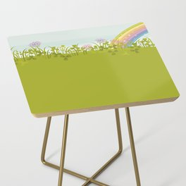 Sunny Day. Clovers. Side Table