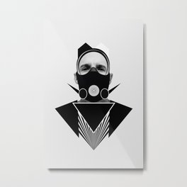 Dark Homonyms X Metal Print