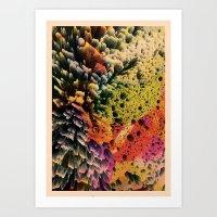 AQUART / PATTERN SERIES 007 Art Print