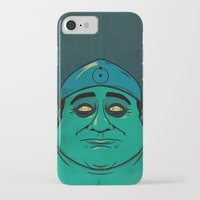 watchmen iPhone & iPod Cases featuring It's Always Sunny in Watchmen - Frank by Jessica On Paper