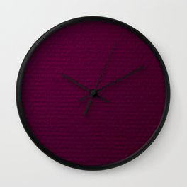 Electric Purple Wall Clock