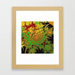 Swirls and Spirals Framed Art Print