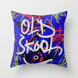 Old Skool Throw Pillow