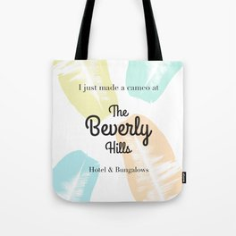 The Beverly Hills Hotel Leaf Tote Bag