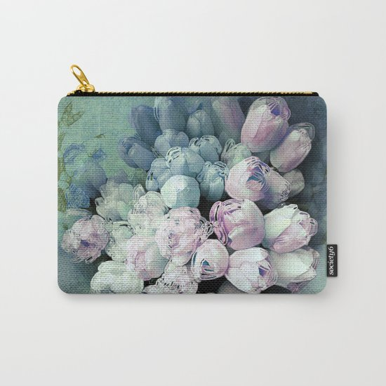 Tulips Antique Carry-All Pouch