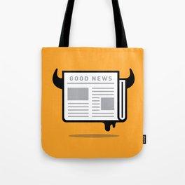 Good News For People Who Love Bad News Tote Bag