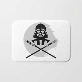 Iconic Star Dark Pirate Wars Bath Mat