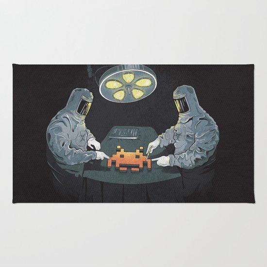 Alien Autopsy Rug