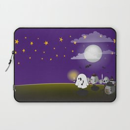 halloween hedgehogs party gang Laptop Sleeve