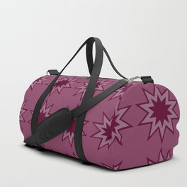 Strawberry Star burst Duffle Bag