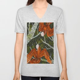 Forest Spirits Unisex V-Neck