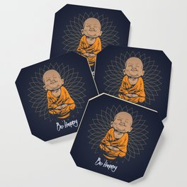 Be Happy Little Buddha Coaster