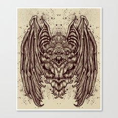 Theres a BAT! Canvas Print