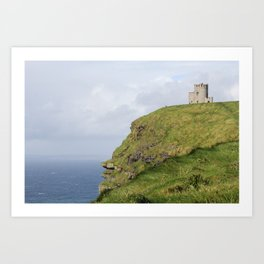 Ireland castle Art Print