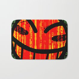 Cowboy Bebop Hacked Smile Bath Mat