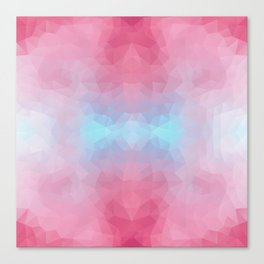 Mozaic design in soft colors Canvas Print