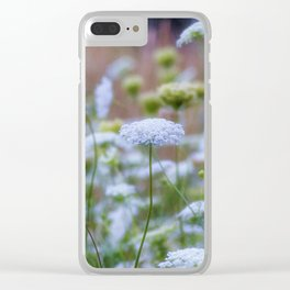 Wild Carrots Clear iPhone Case