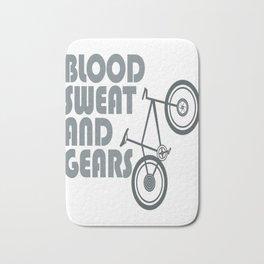 Bike - blood sweat & gears Bath Mat