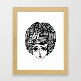 KIANA Framed Art Print