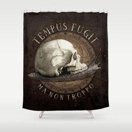 Tempus Fugit (ma non troppo) Shower Curtain