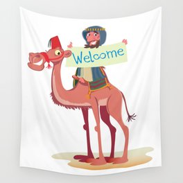 Egyptian Camel Wall Tapestry