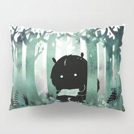 A Quiet Spot (in green) Pillow Sham