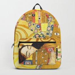 """Gustav Klimt """"Fulfillment"""" Backpack"""