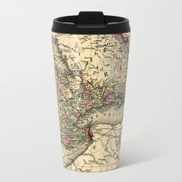 Map Of Ontario 1874 Travel Mug