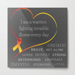 CRPS Awareness Metal Print
