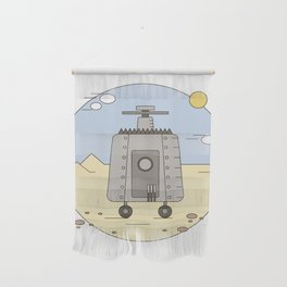Pepelats. Russian science fiction. Wall Hanging