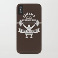 snatch iPhone & iPod Cases featuring Friendly Neighbourhood Lift Engineers by Daniel Thompson