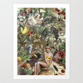 BOMBUS TERRESTRIS Art Print