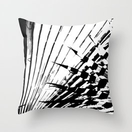 Spiked Palm Throw Pillow