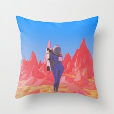 Cosmonaut.2. Throw Pillow