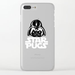 Welcome to the Dark Side Clear iPhone Case
