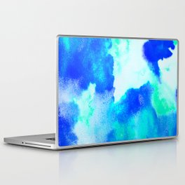 Blue Java Laptop & iPad Skin