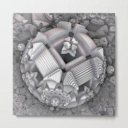 Pompon, VariationII Metal Print
