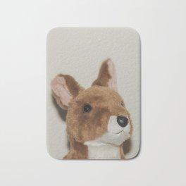 Cute kangaroo plush 0031 Bath Mat