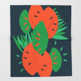 Tropical Throw Blanket
