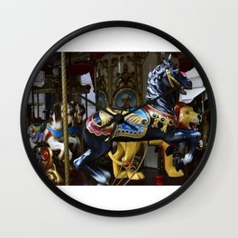 Merry Go Round - Montecatini Terme , Italy Wall Clock