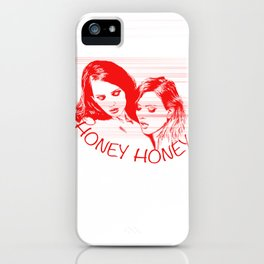 HoneyHoney iPhone Case