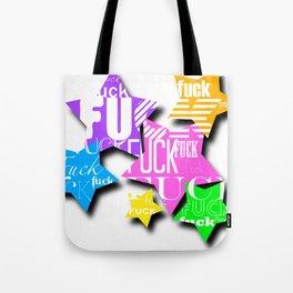 Expletive Stars Tote Bag